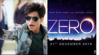 shahrukh khan zero فيلم شاروخان الجديد زيرو 2018