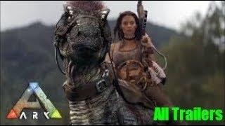 ARK Survival Evolved ALL Trailers